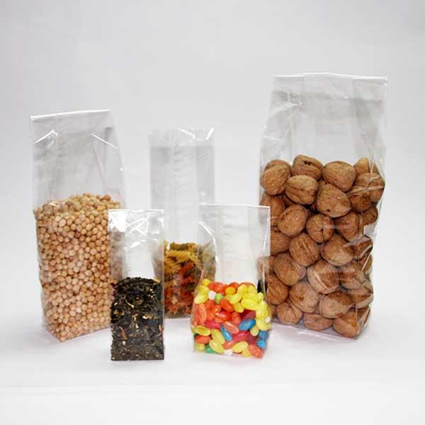 bolsas de plastico con base cuadrada